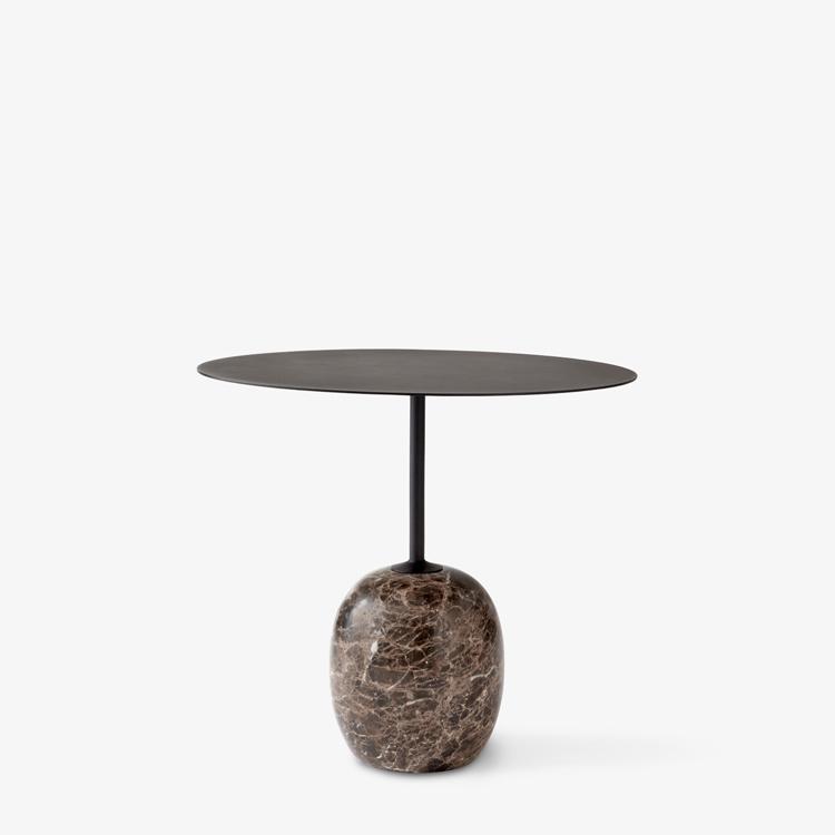 &Tradition - Lato LN9 side table Warm Black
