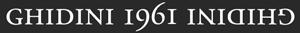GHIDINI 1961 logo