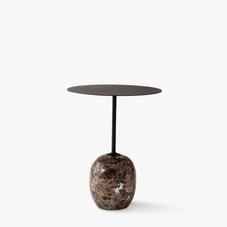 &Tradition Lato LN8 side table Warm Black